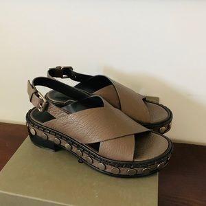 All Saints Leather Sandals